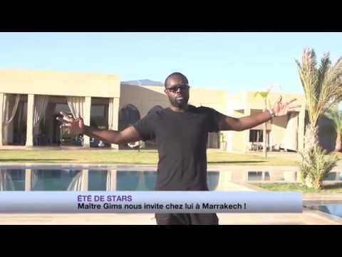 Ma U00eetre Gims Nous Fait Visiter Sa Villa  U00e0 Marrakech