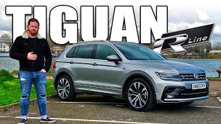 VW Volkswagen Tiguan R-Line Review 2020 - The coolest daddy wagon on the market?