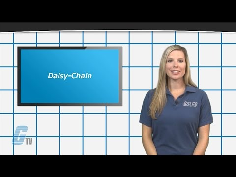 Electrical Engineering: Daisy Chain Wiring Schemes  A GalcoTV Tech Tip  YouTube