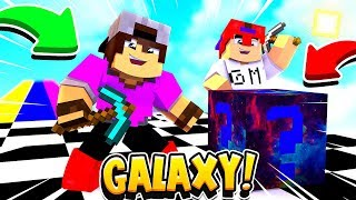 Minecraft: CORRIDA PVP - LUCKY BLOCK GALAXY OP!