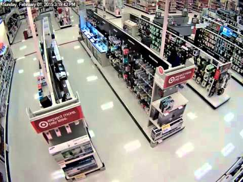 Target Retail Theft switiching price tags