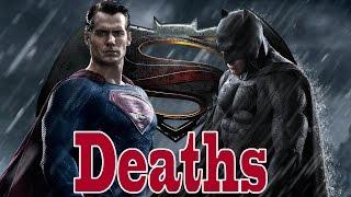 Every Death in Batman Vs Superman