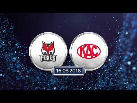 Erste Bank Eishockey Liga, Viertelfinale 4: HCB Südtirol Alperia vs. EC-KAC 3:2 OT