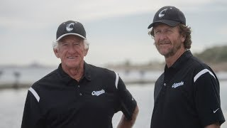 Lakeshore Chinooks commercial with Bob Uecker and Robin Yount