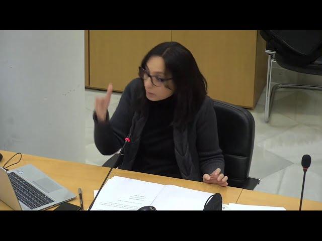 """El Cañaveral. Mercedes González: """"Ceder este suelo no facilita la libertad de las familias"""""""