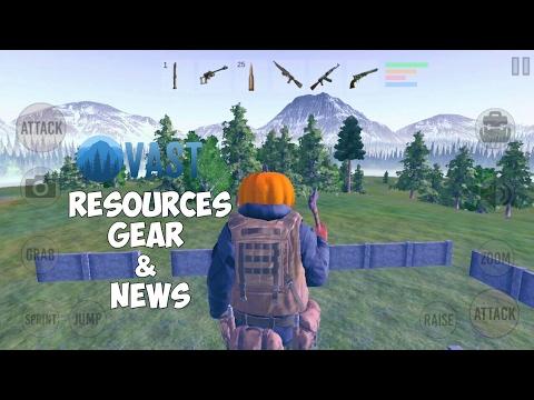 Vast Survival: Quickest Way To Get Resources & Gear + Channel News