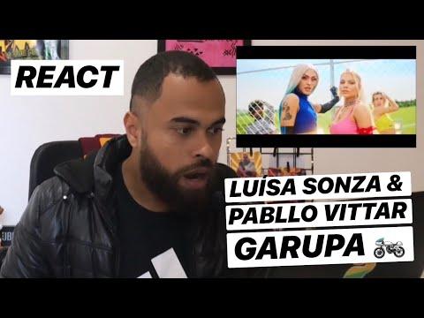 Luísa Sonza Pabllo Vittar - Garupa REACT  REAÇÃO