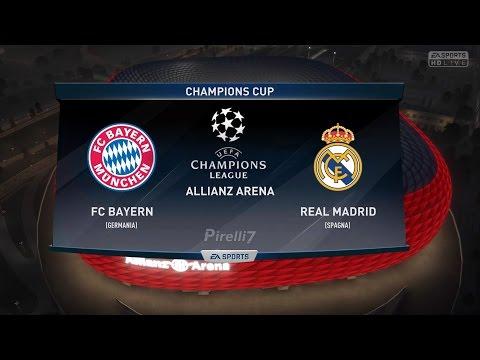 FC Bayern Munich vs Real Madrid FC  Champions League 12/04/2017  FIFA 17 Predicts - by Pirelli7