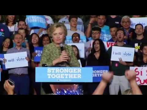 Hillary Clinton Las Vegas, NV FULL Speech 10/12/16