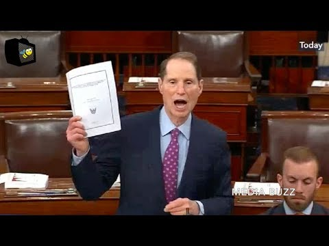 Senator Ron Wyden Gets Pissed And Screams About Unicorns in GOP Tax Bill!