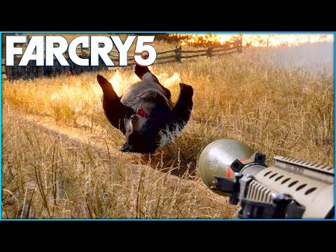 FAR CRY 5 Free Roam Gameplay - Hunting Animals Gameplay!