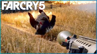 FAR CRY 5 Free Roam Gameplay - Hunting Animals Gameplay!