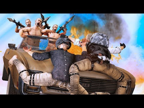 PUBG Animation: Driving with Friends (SFM Animation)