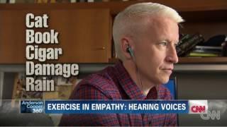 Anderson Cooper Tries A Schizophrenia Simulator - Parody