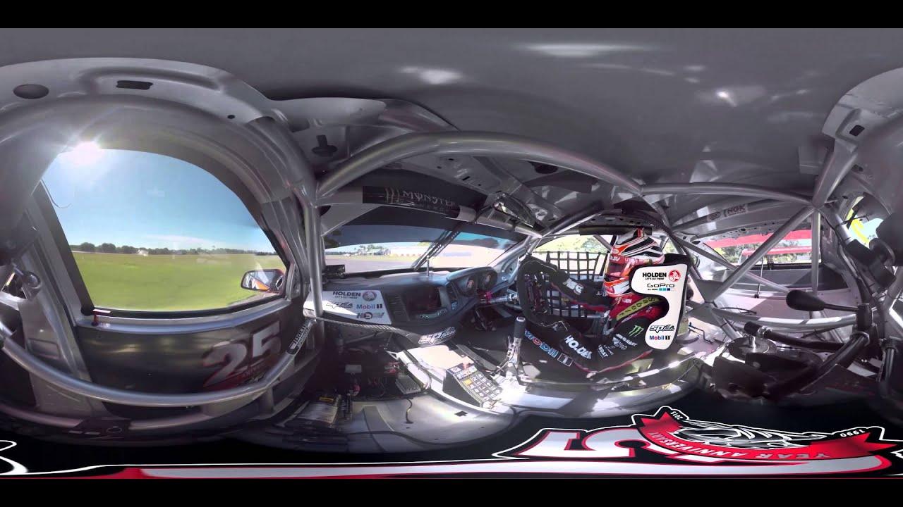 GoPro VR: Inside a V8 Supercar with Holden Racing Team