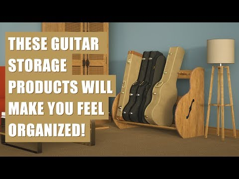 Guitar Storage Furniture for Your Home or Music Studio