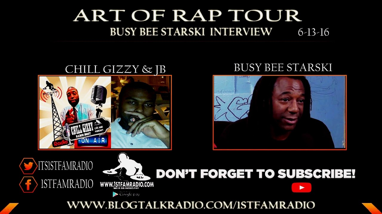 BUSY BEE STARSKI TALKS ABOUT BEING LEGENDARY AND ART OF ...