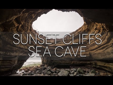 Exploring the Sunset Cliffs Sea Cave in San Diego