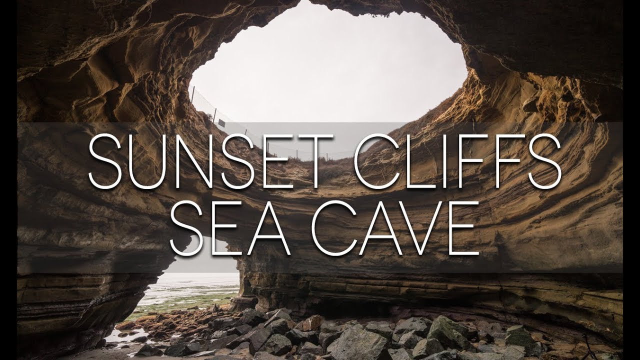 Exploring The Sunset Cliffs Sea Cave In San Diego Youtube