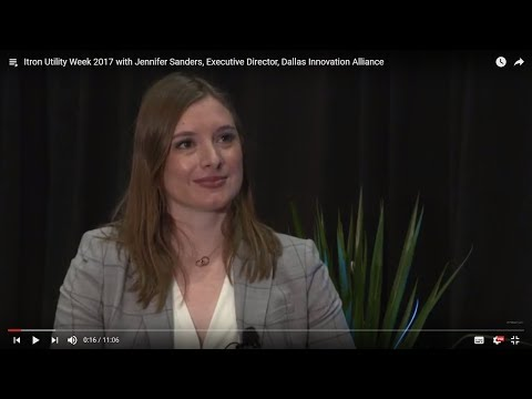 Smart infrastructure implementation in Dallas with Jennifer Sanders (Itron Utility Week 2017)