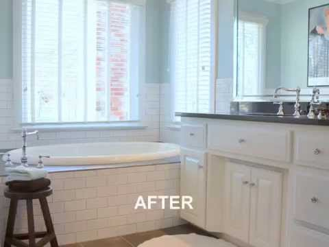 Bathroom Remodeling Cary Before And After TrendMark Inc Also - Bathroom remodeling cary