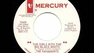 THE PARAMOUNTS - The Girl With The Big Black Boots