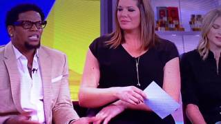 D. L. Hughley on The View 08/06/2015