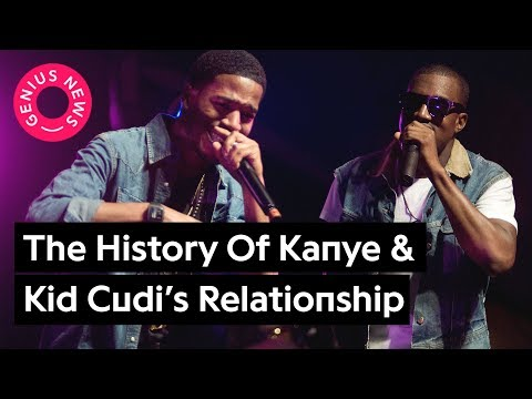 A Comprehensive Timeline Of Kanye West & Kid Cudi's Rocky Relationship | Genius News