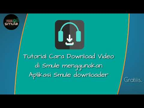 Tutorial Cara Download Lagu Di Smule Dengan Aplikasi Downloader