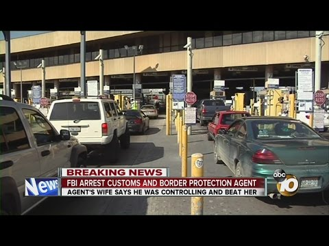Wife of arrested CBP agent speaks to 10News