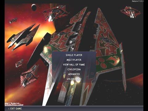 Babylon 5 Civilization IV BTS FF Mod Tour HD - Part 1/2