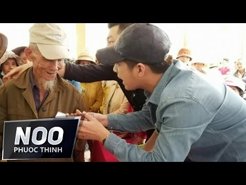 Noo Phước Thịnh trao quà từ thiện ở Thanh Hoá