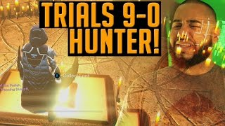 Destiny Trials 9-0 w/ a HUNTER, Libra Lebron James & Bow | Flawless Light House Loot