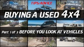 Buying a used Vehicle, 4x4 version part 1