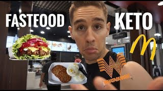 FAST-FOOD KETO FULL DAY OF EATING!