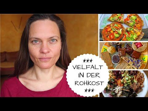 Vielfalt - vegane ROHKOST in der Weihnachtszeit-  Potluck - Leckereien!