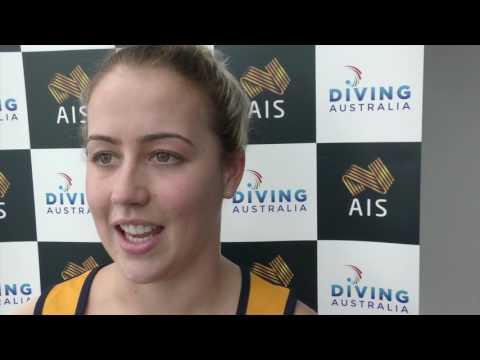Australian diver Brittany Broben