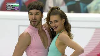 Фигурное катание Финал Гран при 2019 года Турин Танцевальные пары Ритм танец Пападакис и Сизерон