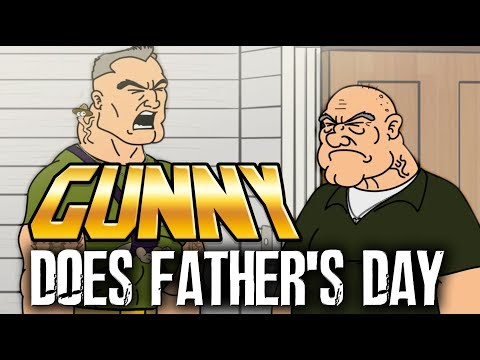 Marine Gunny visits his father for Father's Day