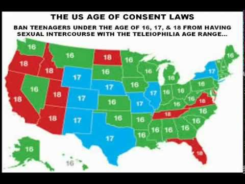 TELEIOPHILIA PSA YouTube - Us age of consent map