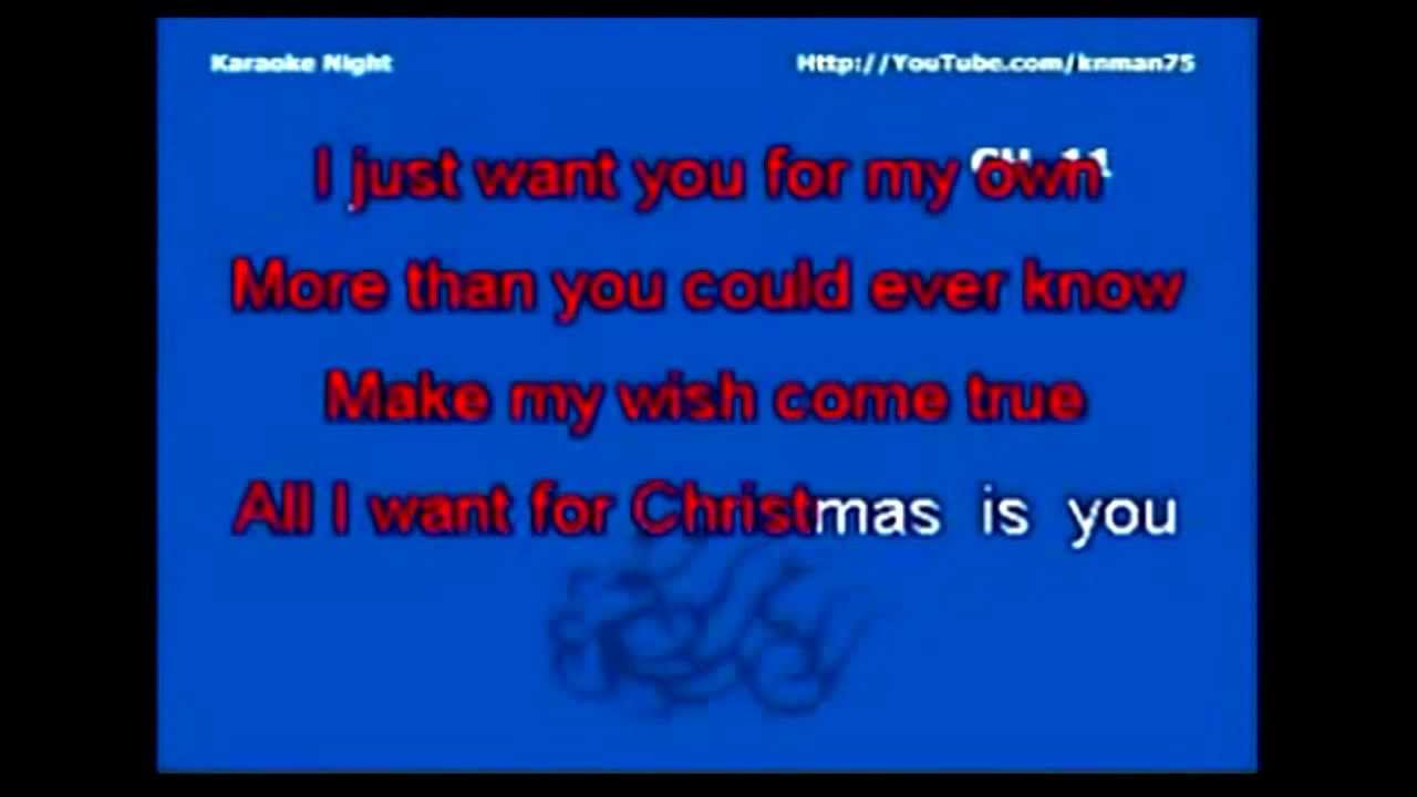 All I want for Christmas is You (minus one) ( Christmas Carol ...