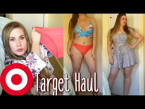 9eb56a6d669 Target Clothing and Swimwear Haul + Try On // Plus Size // 2018