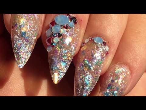 White Galaxy Nail Art Tutorial | DIY Nails thumbnail