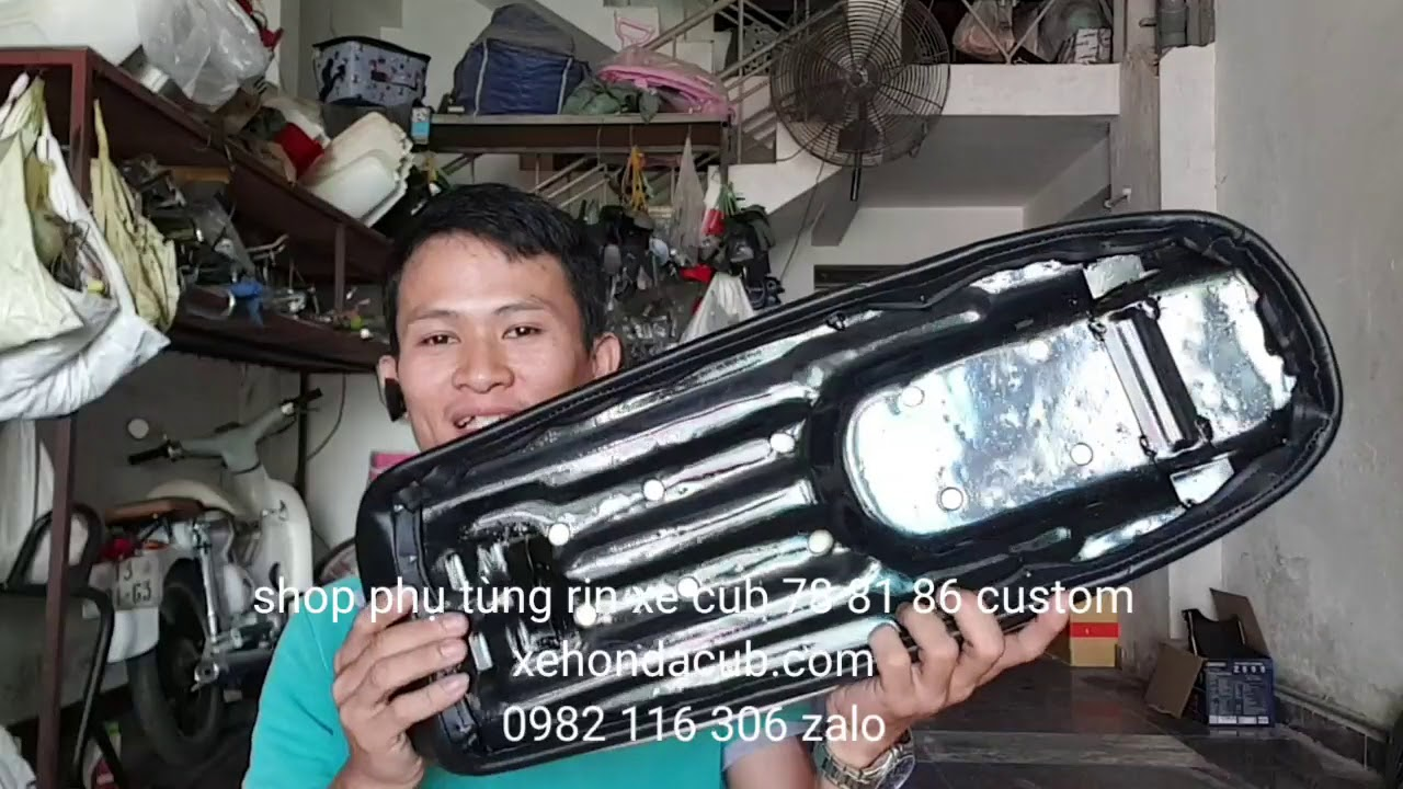 Yên dài CL, yên CD, CDs, yên mới gắn được xe 67, shop phụ tùng rin xe cub 81 86