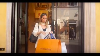 THE BEST SHOPPING IN ROME  LOUIS VUITTON JIMMY CHOO FENDI D&G VALENTINO...