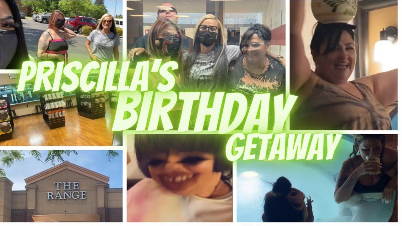 Priscilla's birthday trip vlog 🎈✨🎉
