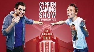 le cyprien gaming show le 6 septembre