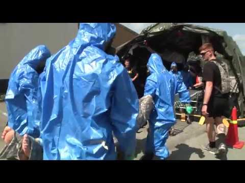 AFN Humphreys - Bravo Company 121 Decontamination Training