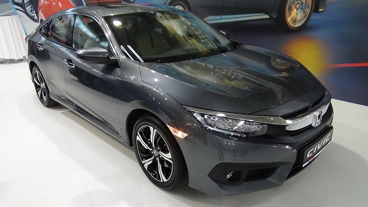 2018 Honda Civic Sedan 15 Vtec Turbo Executive Exterior And