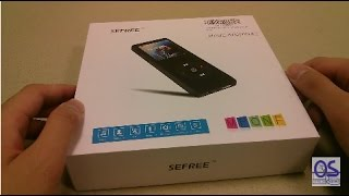 Unboxing: SEFREE MPONE Bluetooth Smart MP3 Player!